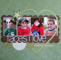Faces I love