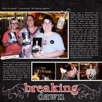 Breaking Dawn {CT Reveal}