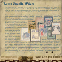 Aug Journaling Chlg - Laura Ingalls Wilder