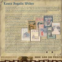 Aug Journaling Chlg - Laura Ingalls Wilder