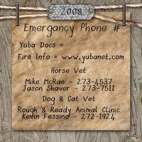 5 Emergany Phone #