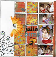Julie turns 2