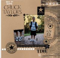 Chuck Taylors..