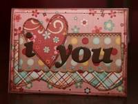 "MME Garden Party ""I Love You"" Card"