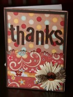 "MME Garden Party ""Thanks"" card"