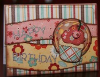 "MME Garden Party ""Happy Birthday"" card"