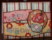"MME Garden Party ""Happy Birthday"" card"