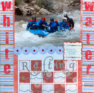 White Water Rafting **Scribble Scrabble CT Reveal**
