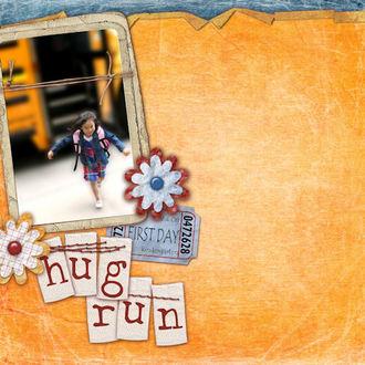First Day Hug Run