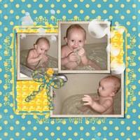 Bath Time with Kaylee