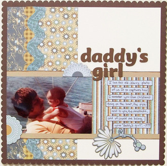 **Scribble Scrabble Reveal** Daddy's Girl