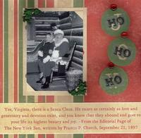 """Yes there is a Santa Claus (As seen in """"Scrappin', Stampin' & Stationery!"""")"""