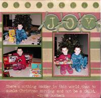 DT GinX Christmas layout