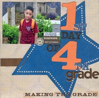 1st Day of 4th Grade