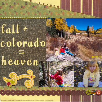 Fall and Colorado = Heaven **Scribble Scrabble CT Reveal**