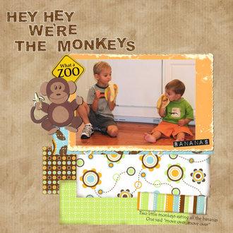 Hey Hey We're the Monkeys