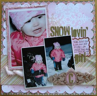 TATTERED ANGELS CT Reveal - Snow Lovin' Girl