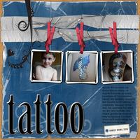 Tattoo {Sketch Contest Reveal}