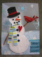 Baby's It's Cold Outside card *trend*