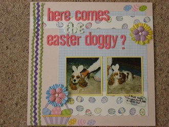 Here Comes the Easter Doggy?