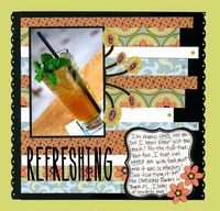 REFRESHING - October Theme Challenge