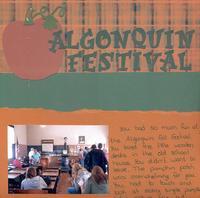 algonquin festival