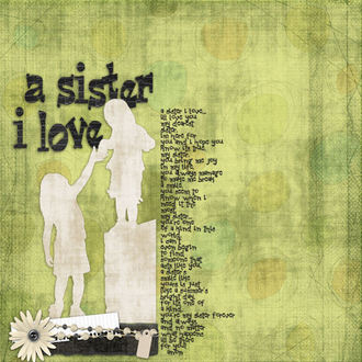 A Sister I Love