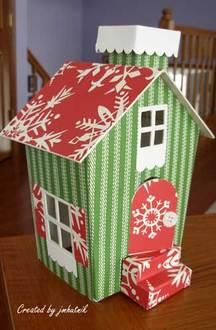 Doodlebug Christmas House