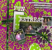Fun Scrapbook Retreat 10/24/08 - 10/26/08