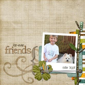 fur-ever friends {CT photo swap reveal}