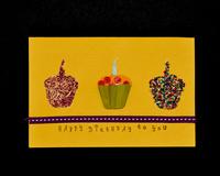 Happy B-day w-Cupcakes