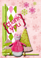 Holiday Thank you Card FS#11