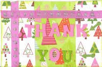 Thank You Christmas Card Fast Scrap #11