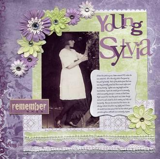 Young Sylvia