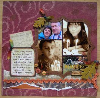 October Memories *Tech Challenge*