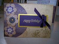 Mom's B day card