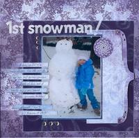 1st Snowman