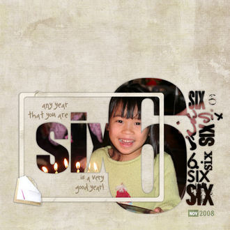 Six is a Very Good Year -CT Reveal