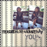 treasure, love, admire {Ma's Shop Swap}