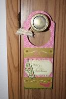 Door Hanger **Pink Paislee Tinsel Town CT Reveal**
