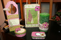 Altered Set **Pink Paislee Tinsel Town CT Reveal**