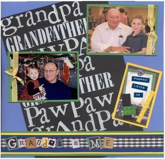 Grandpa and Me/Sept Challenge