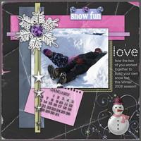 Snow Fort Fun
