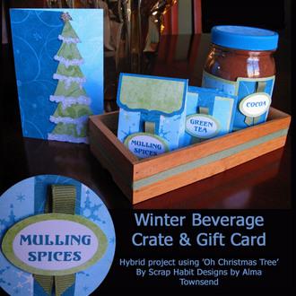 Winter Beverage Crate