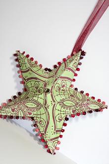 Hybrid star ornament