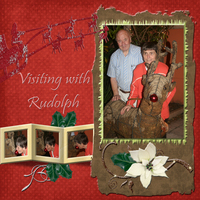 Visiting w/ Rudolph