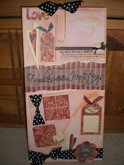 Heartstrings - Altered Canvas Panel