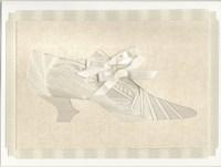 Iris Folding card - shoe
