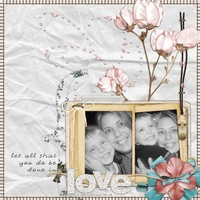 "February Faithbooking Challenge - ""Done in Love"""