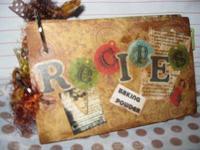Altered recipe book